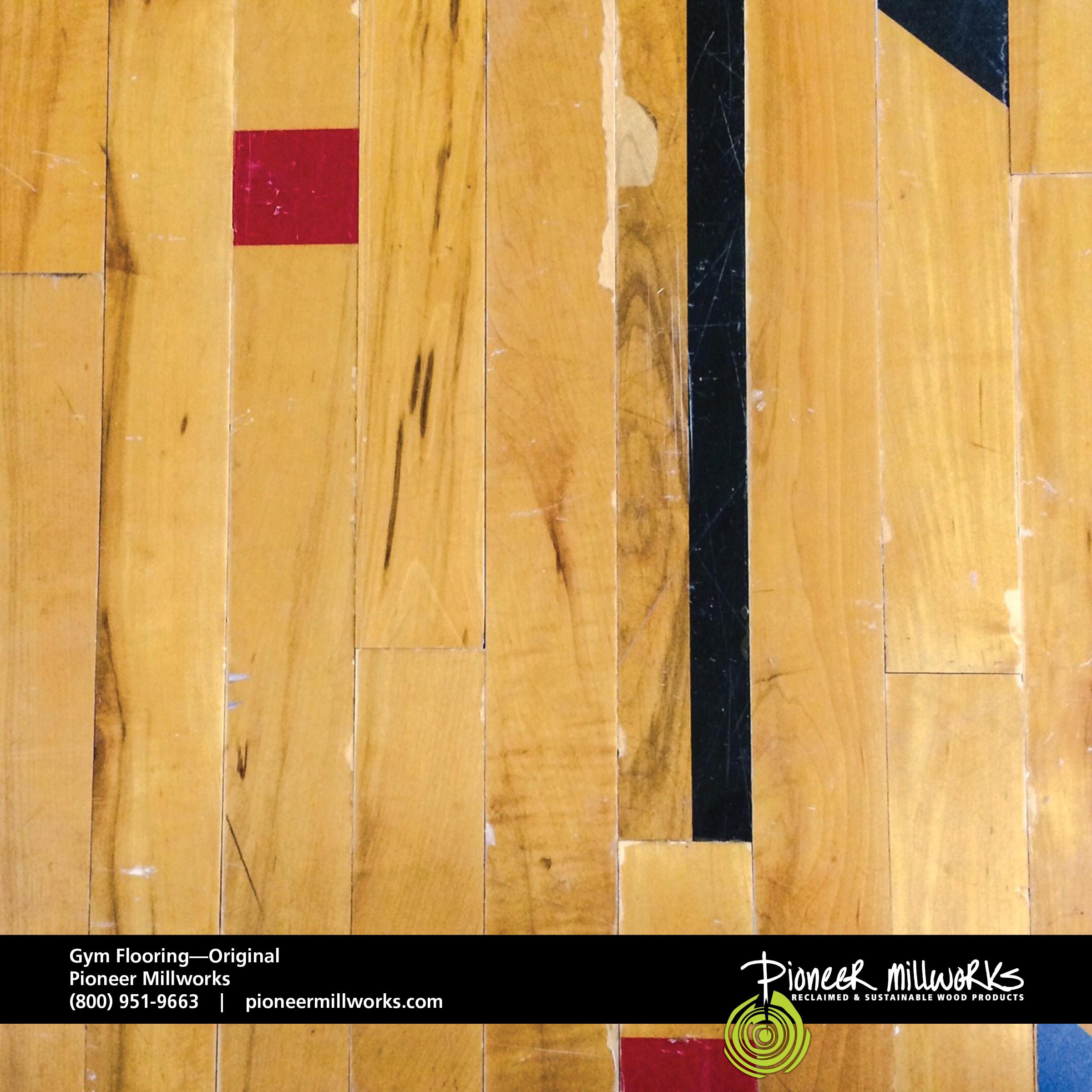 ORIGINAL GYM FLOORING Pioneermillworks - Reclaimed gym flooring for sale