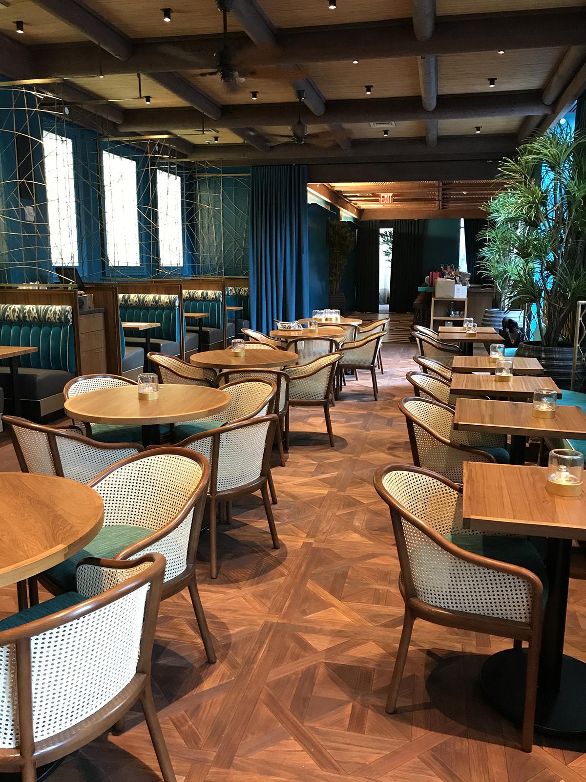 Polynesian Restaurant Pod Hotel Nyc Pioneermillworks