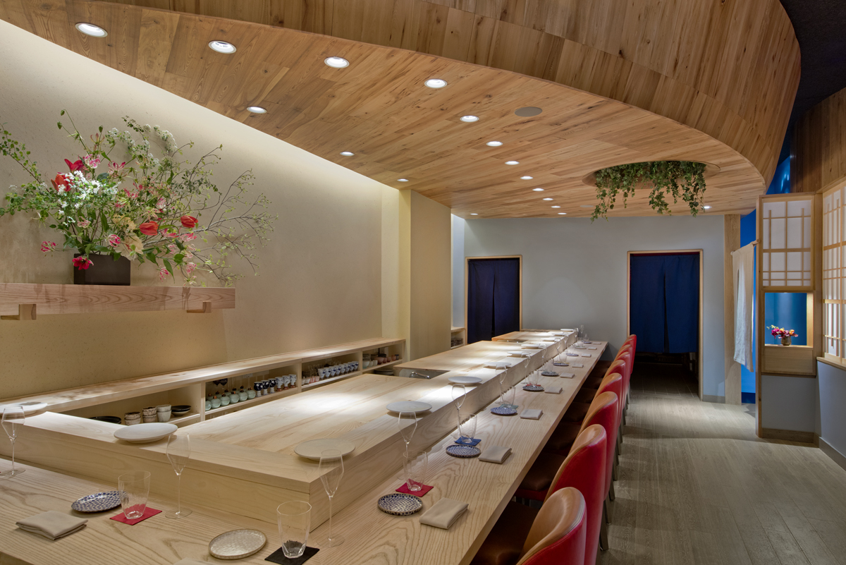 Sushi Restaurantnew York Ny Pioneermillworks