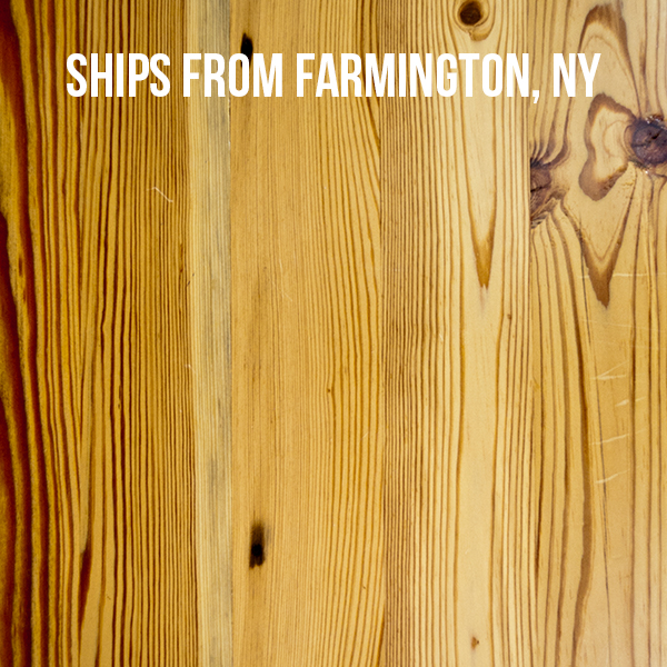 Pioneer Millworks--Engineered Character Heart Pine--$4.95/sf--FOB Farmington, NY