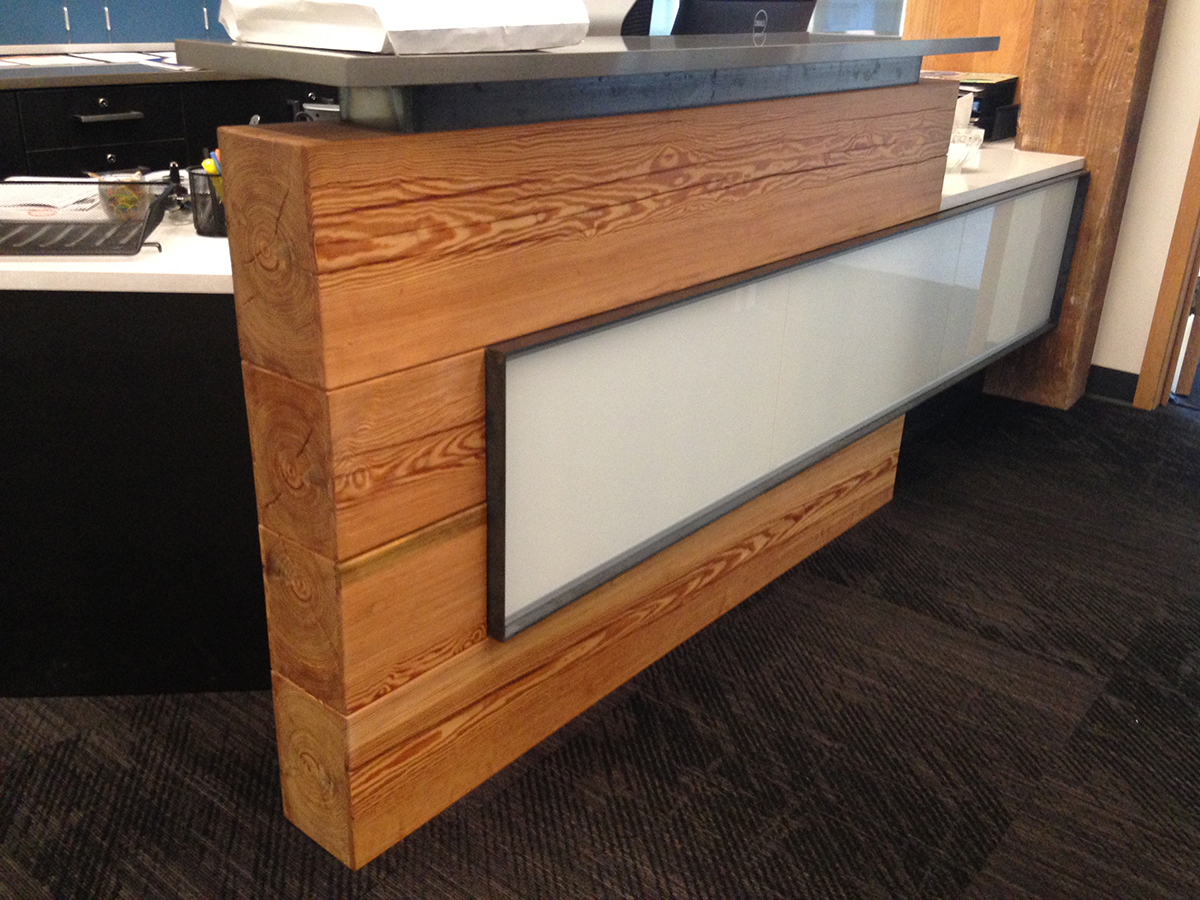 Recption Desks, Cash Wraps, and Bar Fronts | Pioneermillworks