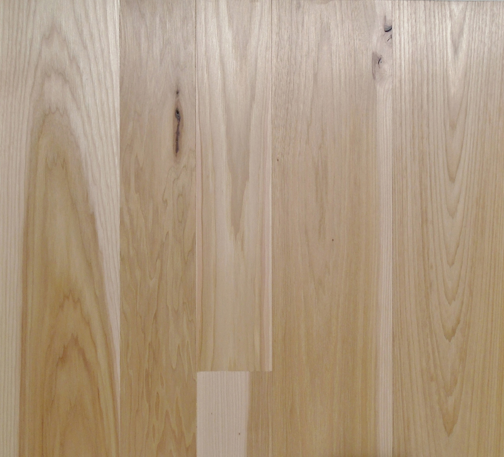 Pioneer Millwork Modern Farmhouse Flooring and Paneling, Clean Hickory