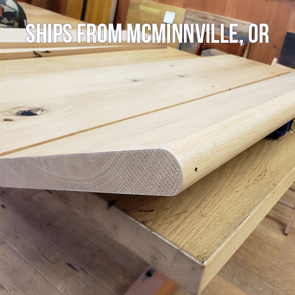 Pioneer Millworks Reclaimed White Oak Stair Treads-FOB McMinnville, OR