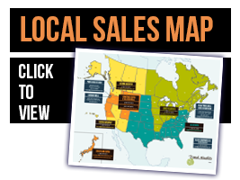 Find Your Local Pioneer Millworks Sales Rep—Download Map PDF