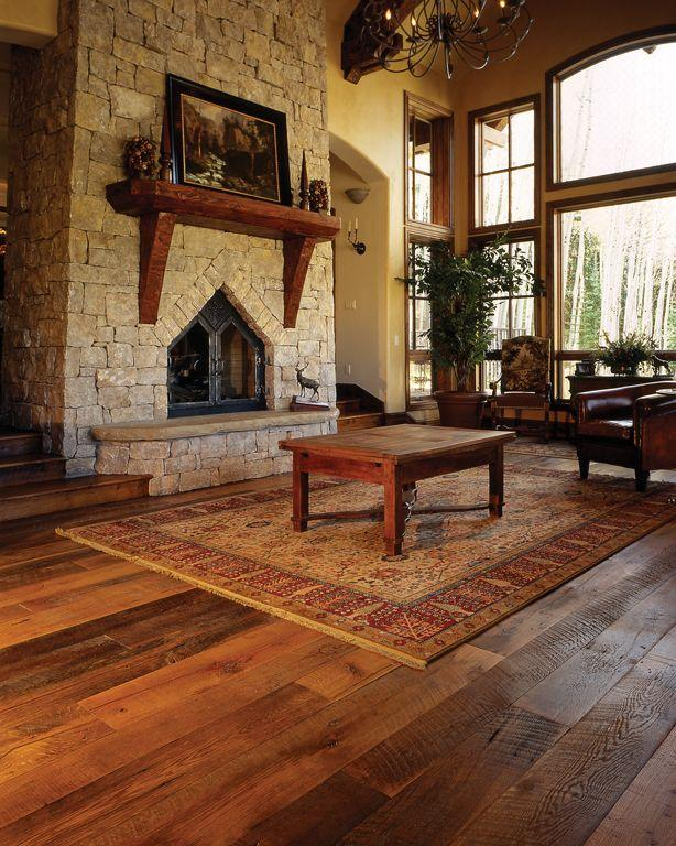 Ranging from rough, dark original texture to smooth and bright grain, this grade is durable and rich in character.