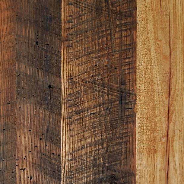 Pioneer Millworks reclaimed wood--Chestnut--Settlers' Plank
