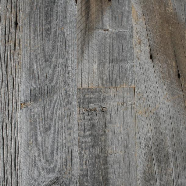Pioneer Millworks reclaimed wood--American Prairie--Weathered Grey with Added Fire Retardant
