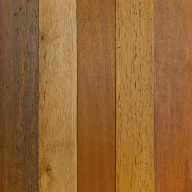 Pioneer Millworks reclaimed wood--Tropical Hardwoods--Tradewinds Bright