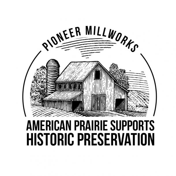 Pioneer Millworks American Prairie products support historic restoration