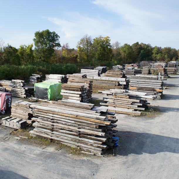 Pioneer Millworks processes 1,062,000 board feet of reclaimed wood yearly