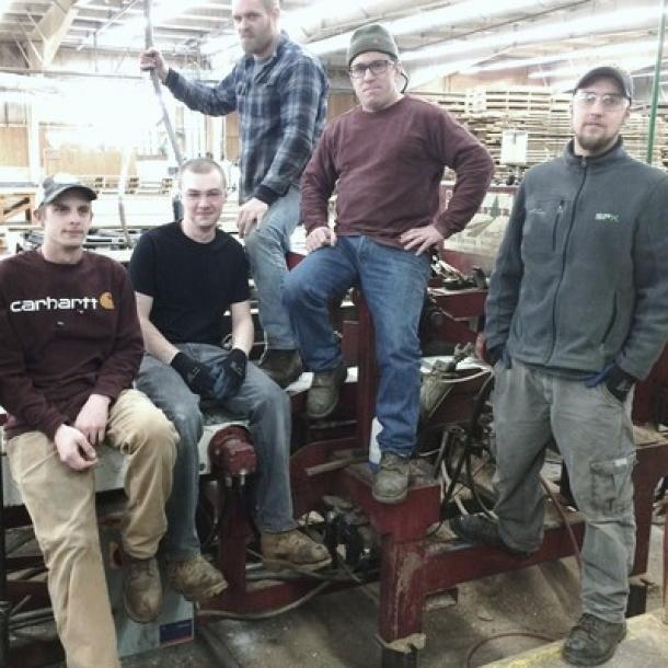 Pioneer Millworks Board Stock Crew