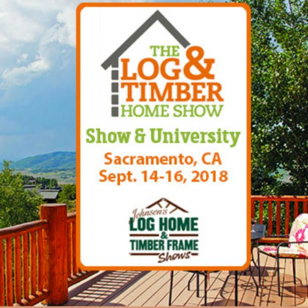 Pioneer Millworks will be at the Log and Timber Home Show in Sacramento, CA this September.