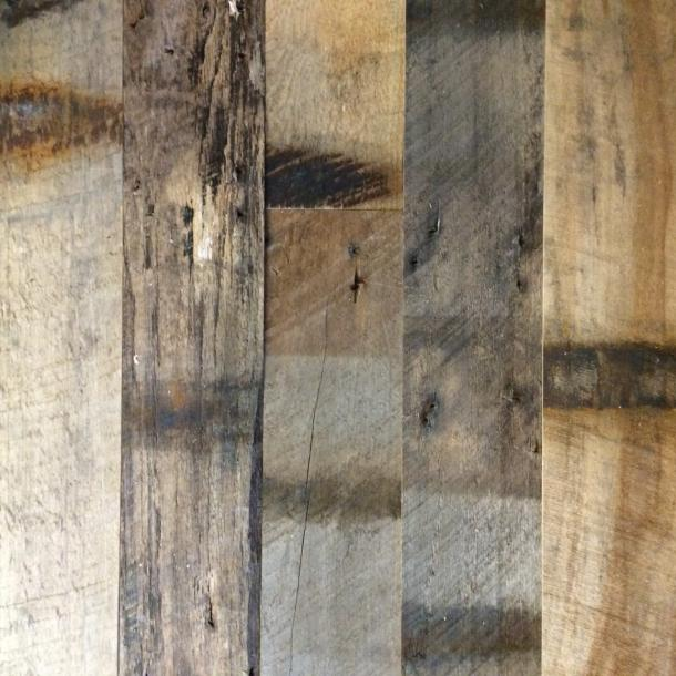 Pioneer Millworks reclaimed wood--Mixed Oak--Railyard Patina