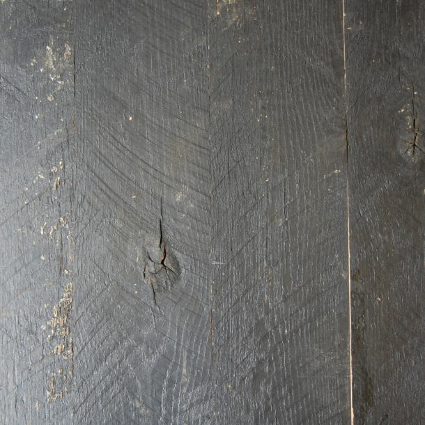 Pioneer Millworks reclaimed wood--Mixed Oak Black--Black & Tan