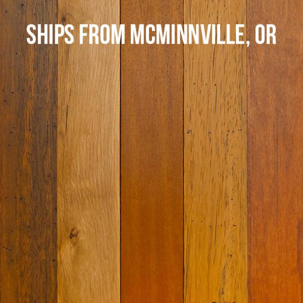 Pioneer Millworks Tropical Hardwoods Tradewinds Bright--$4.95/sf--FOB McMinnville, OR