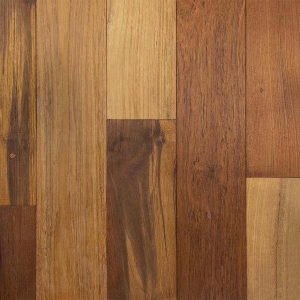 Pioneer Millworks reclaimed wood--Indonesian Teak--Bright