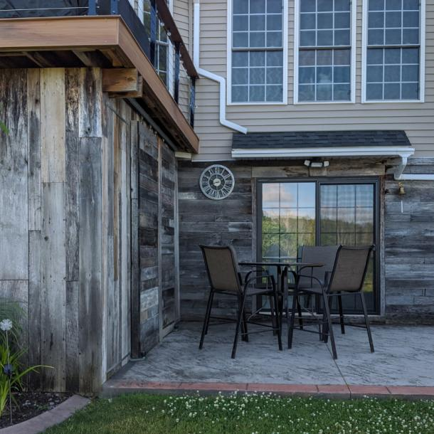 Pioneer Millworks American Prairie Weathered Grey siding––Private Residence.