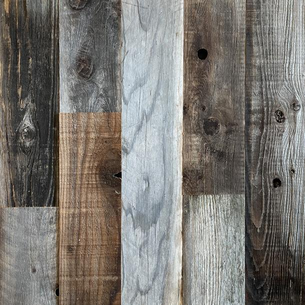 Pioneer Millworks reclaimed wood--American Prairie--Redwood Collection--Reclaimed Barn Wood Exterior Siding