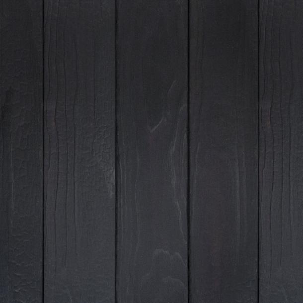 Shou Sugi Ban ACCOYA Toasted by Pioneer Millworks. Charred wood siding and paneling that is burned, brushed once, and coated with an exterior oil.