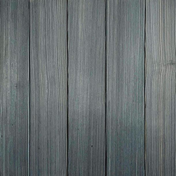 Shou Sugi Ban Douglas Fir Cinder by Pioneer Millworks. Charred wood siding and paneling that is burned, brushed twice, and coated with an exterior oil
