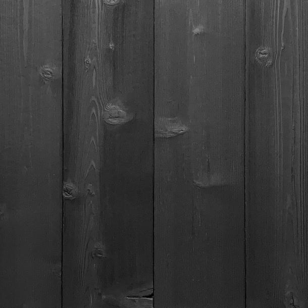 Shou Sugi Ban Western Red Cedar Carbon | 2 by Pioneer Millworks. Charred wood siding and paneling that is burned, brushed twice, and coated with a non-toxic, water-based polyurethane