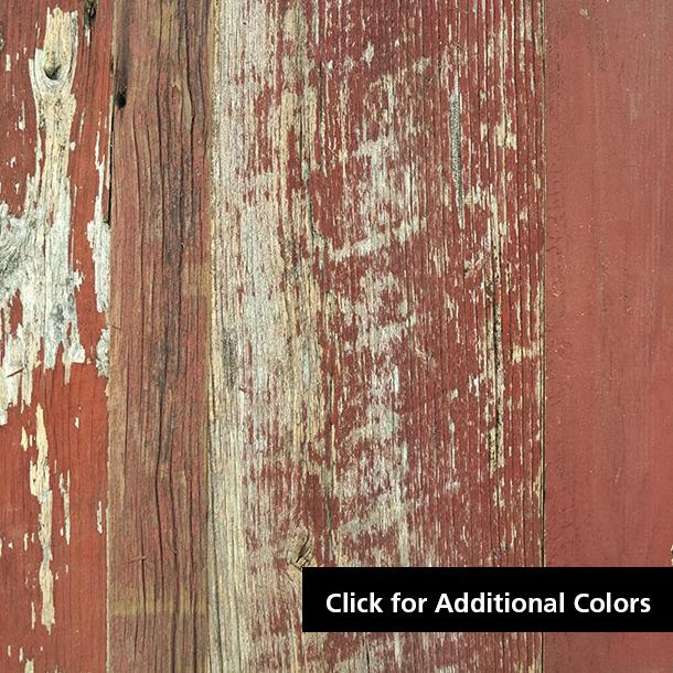 Pioneer Millworks reclaimed wood--American Prairie--Original Painted--Red