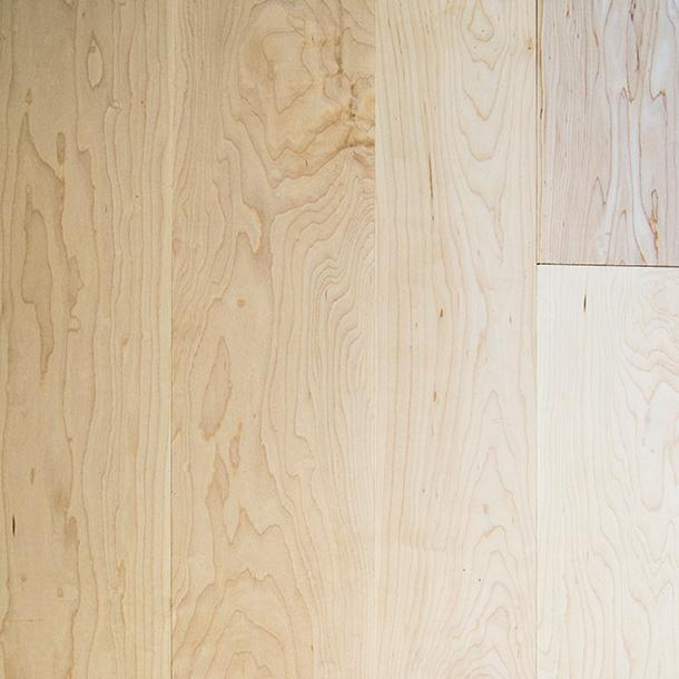 Pioneer Millworks Modern Farmhouse Flooring and Paneling, Clean Maple