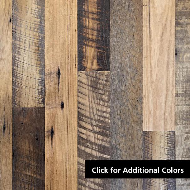 Pioneer Millworks reclaimed wood--Mixed Oak--Setters' Plank