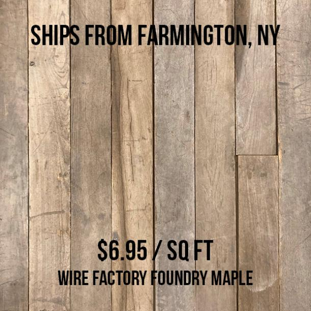 Wire Factory Foundry Maple