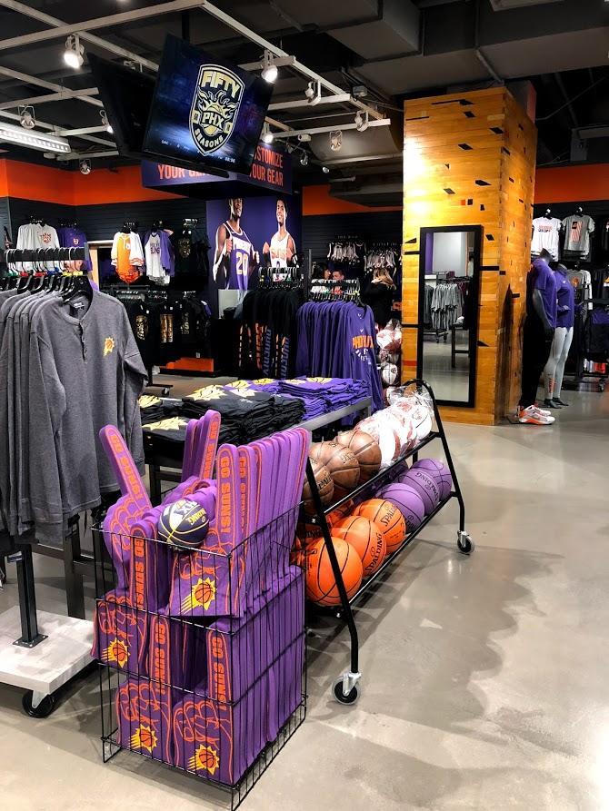 new concept 2691c 52b71 Phoenix Suns Team Store, AZ | Pioneermillworks