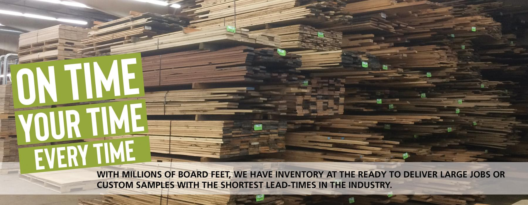 Pioneer Millworks Reclaimed and Sustainable Wood Products Ready to Ship Options