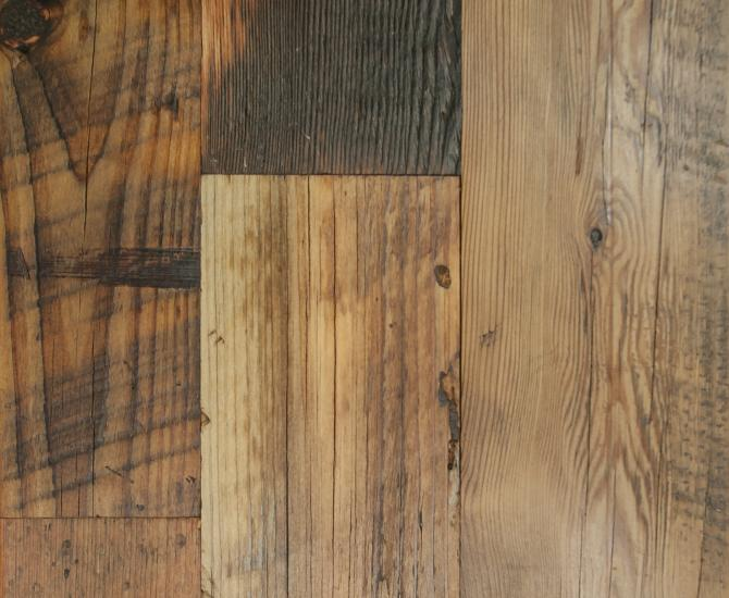 Pioneer Millworks reclaimed wood--Mixed Softwoods--Grandma's Attic