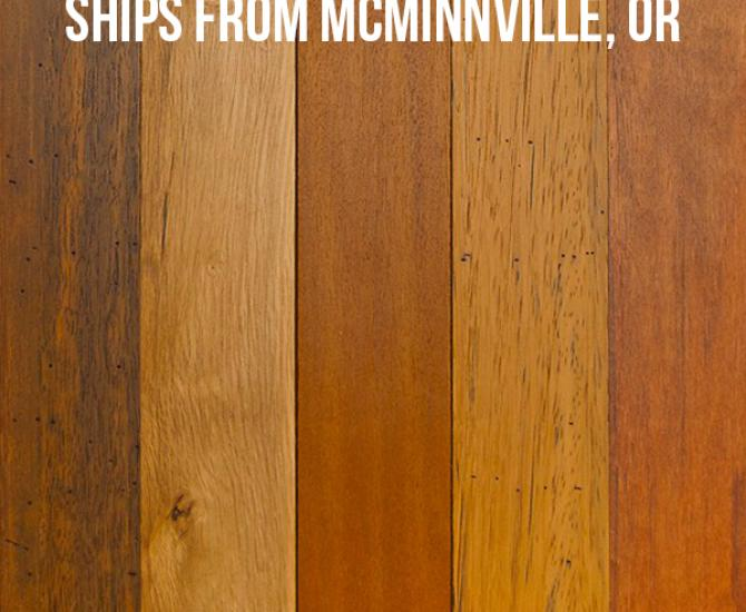 Pioneer Millworks Tropical Hardwoods Tradewinds Bright--$4.95/sq ft--FOB McMinnville, OR