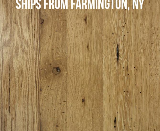 Pioneer Millworks--American Gothic White Oak--$10.95/sq ft--FOB Farmington, NY