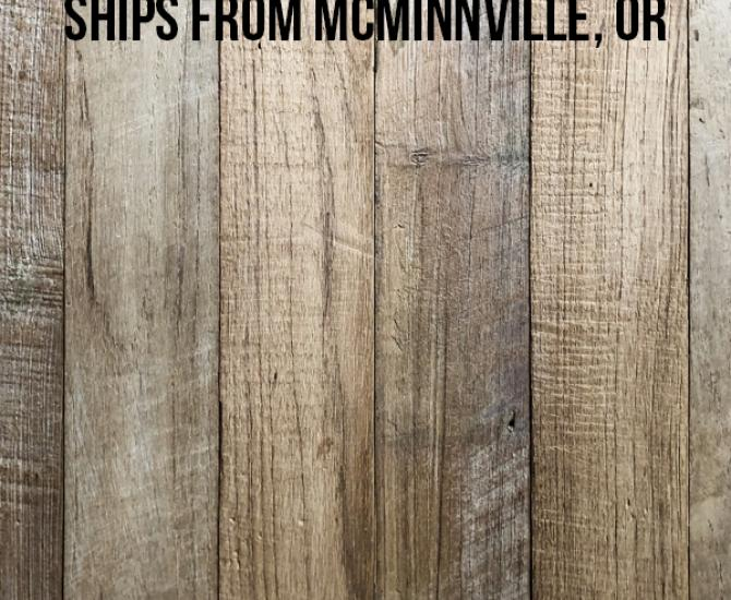 Pioneer Millworks reclaimed Indonesian Teak Engineered Patina—255 sq ft—FOB McMinnville, OR