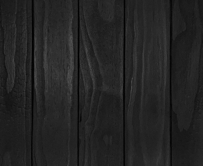Shou Sugi Ban ACCOYA Carbon by Pioneer Millworks. Charred wood siding and paneling that is burned, brushed once, and coated with non-toxic, water-based polyurethane