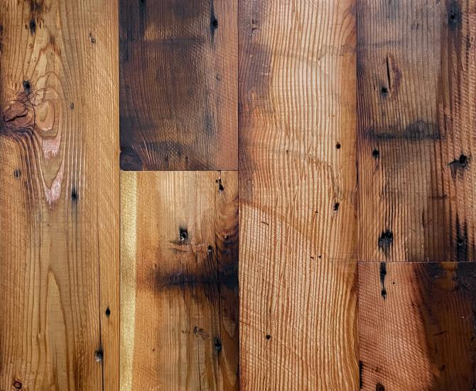 Pioneer Millworks Saw-Kissed Granary Douglas Fir, Pure hardwax oil